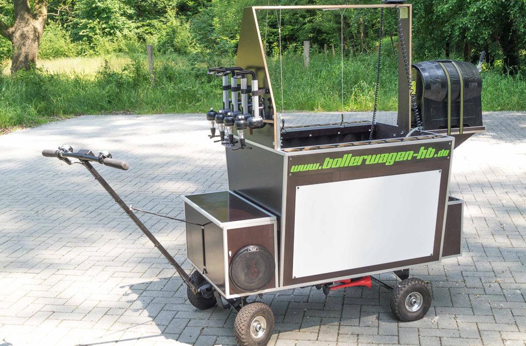 Kohlfahrt mit Hightech Bollerwagen