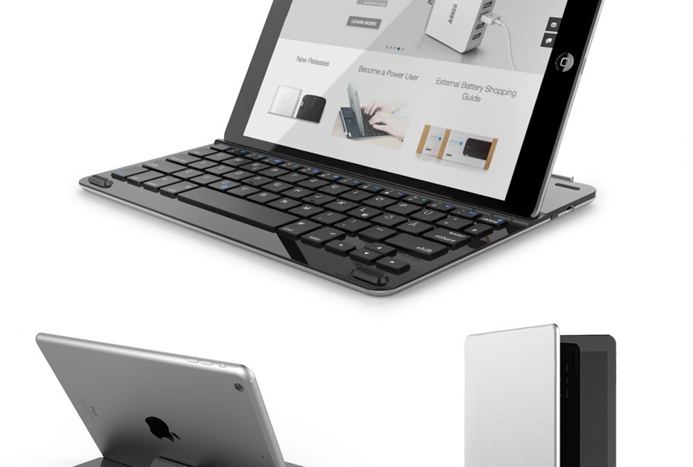 Tastatur fürs iPad Air