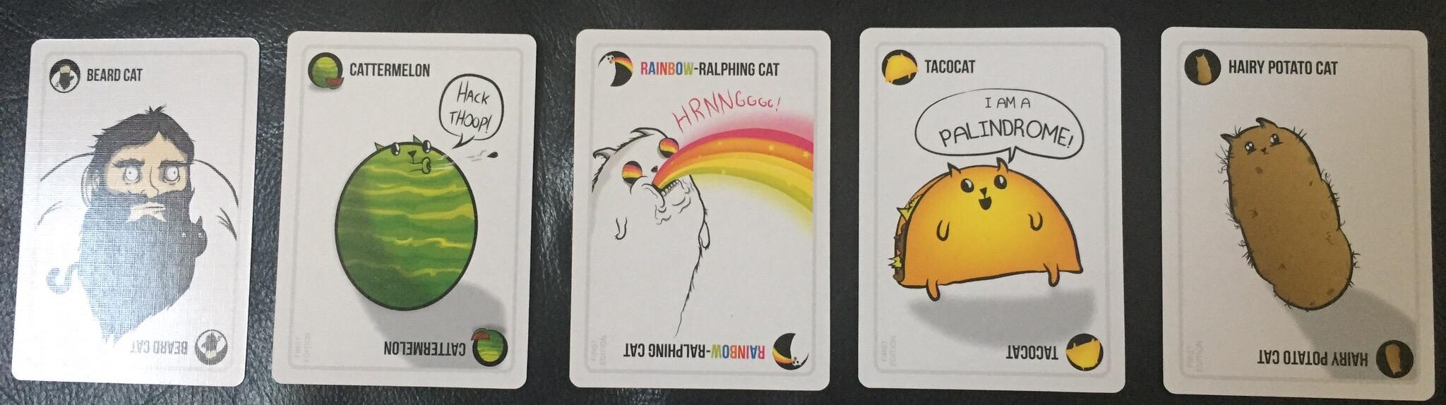 Die Sammelbaren Katzenkarten der jugendfreien Version