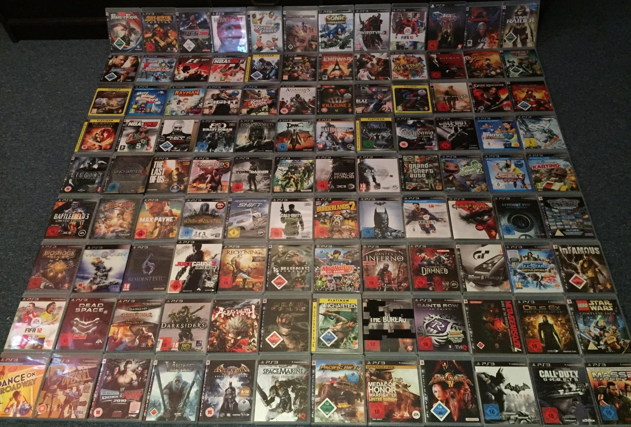 PS3 Spiele zum Verkauf