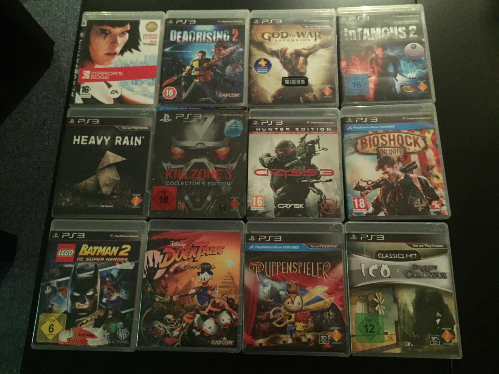 UPDATE Playstation 3 Spiele zum Verkauf