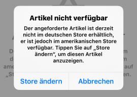 Wenn der App Store dich verarscht