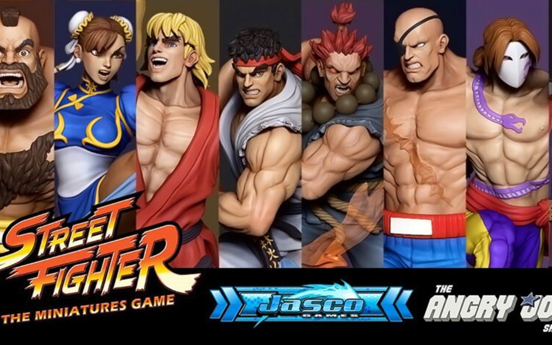 Street Fighter: Miniature Game auf KS