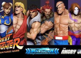 Street Fighter: Miniature Game auf Kickstarter