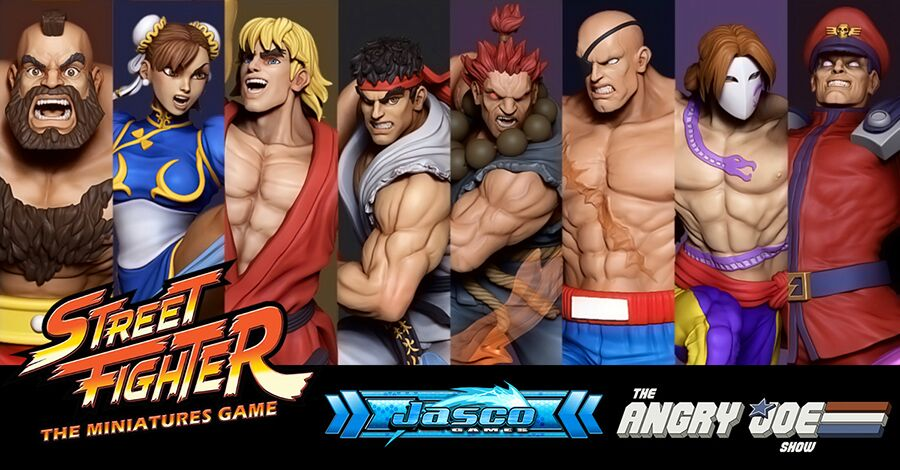 Street Fighter: Miniature Game auf Kickstarter