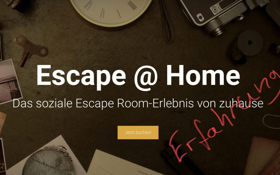 Escape-at-Home.de – Erfahrung