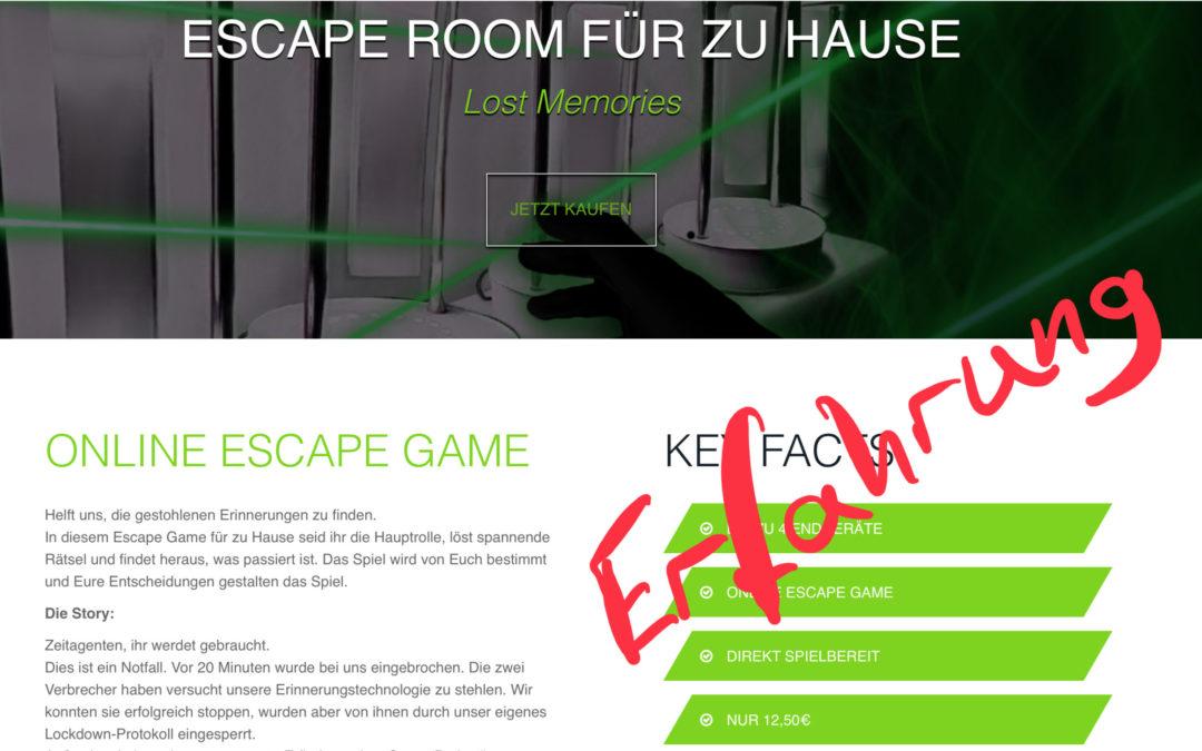 Keyandfree.de Online Escape Adventure – Erfahrung