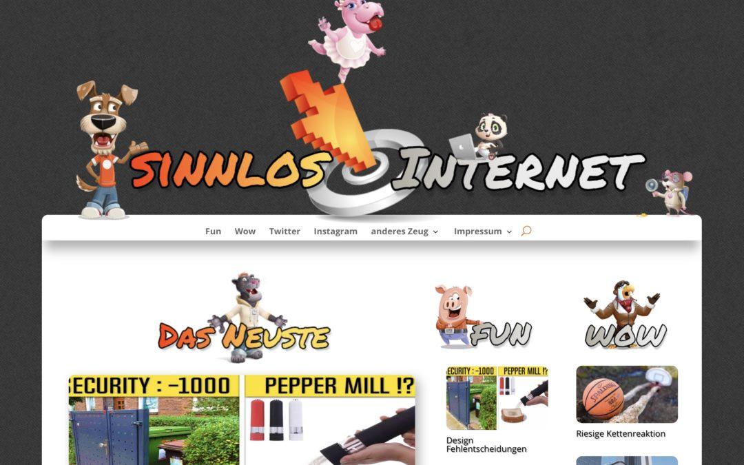 Sinnlos-Internet.de ist zurück!